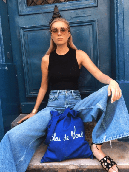 SAC JEANS ECO BRODE